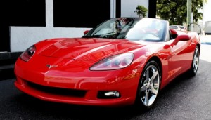 Exotic Chevrolet Corvette Car Rental in Miami