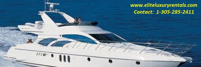 Luxury Yacht Rental Services Miami