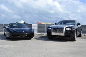 Luxury Cars on Rent in Miami