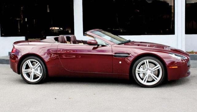 Aston Martin Vantage Convertible