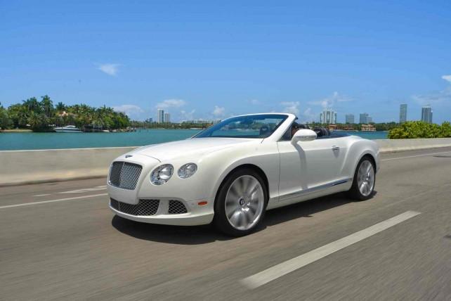 Bentley GTC White