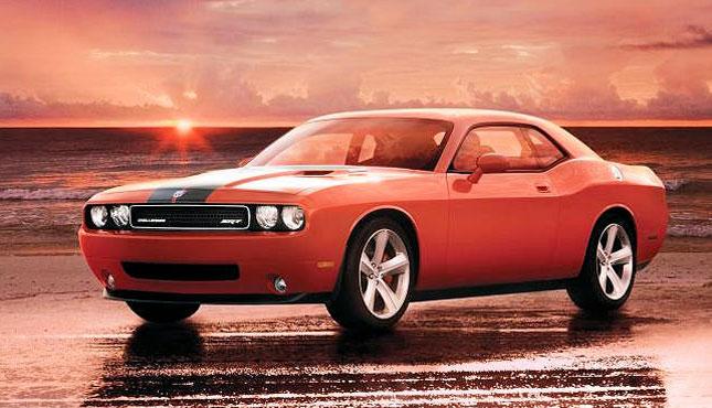 Dodge Challenger Rental Miami Beach