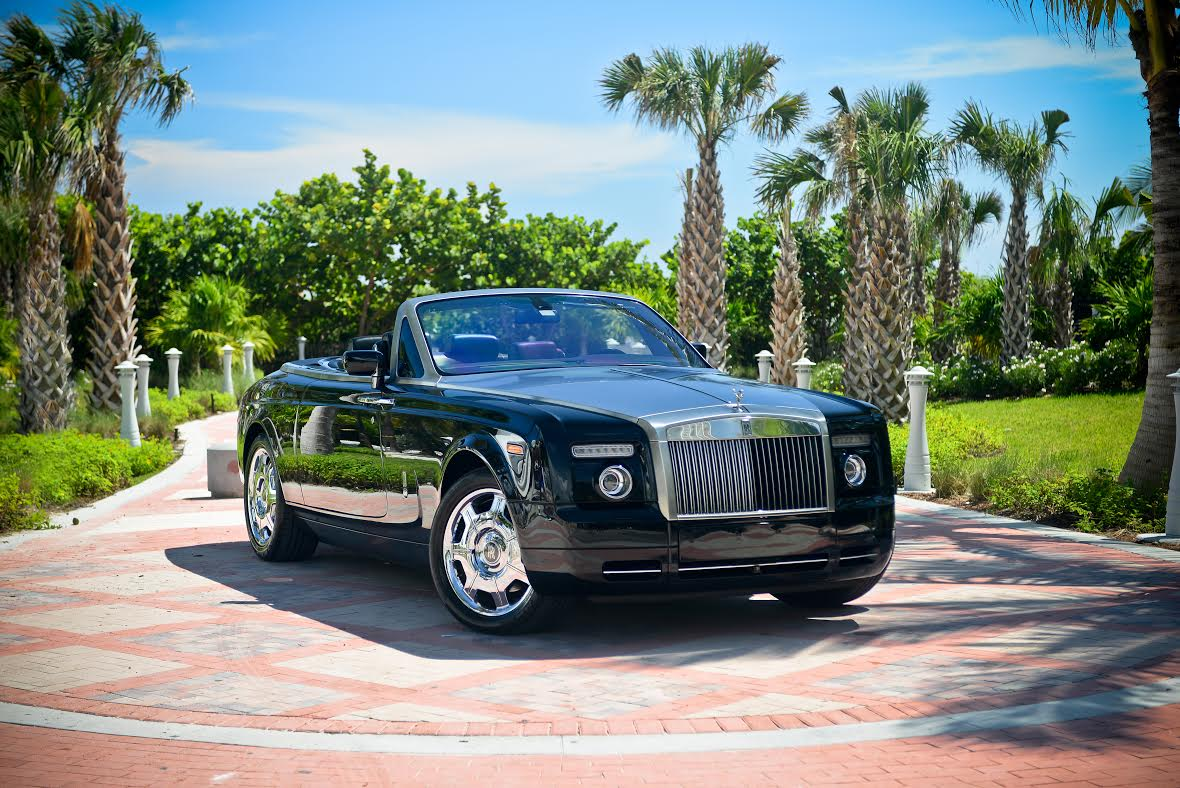 Rent Rolls Royce Phantom Drophead In Miami Eliteluxuryrentals