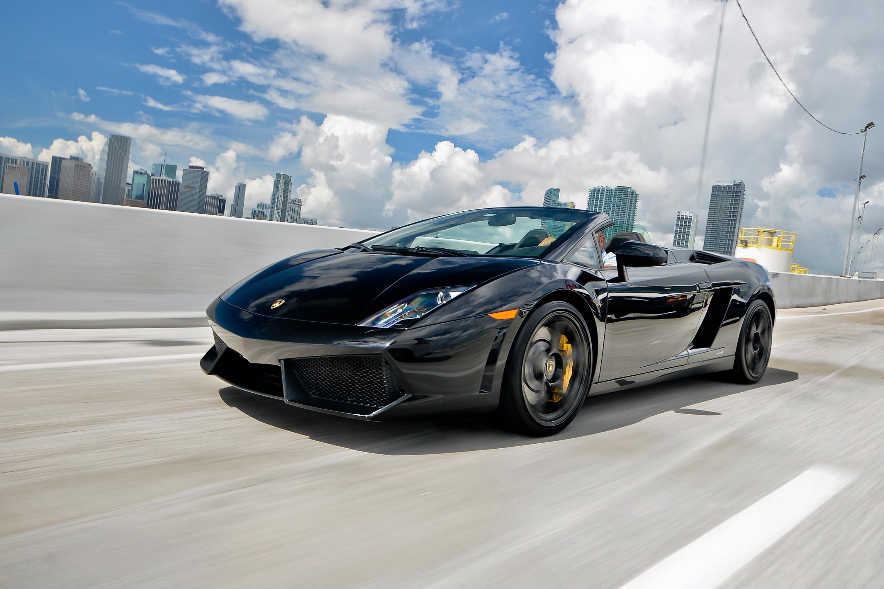 Rent Lamborghini Gallardo Spyder Near Miami South Beach Fl